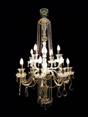 Lustre Cristal K9 12 lâmpadas