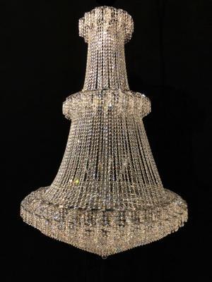 Lustre Cristal K9 42 lâmpadas