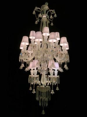 Lustre Cristal K9 20 lâmpadas