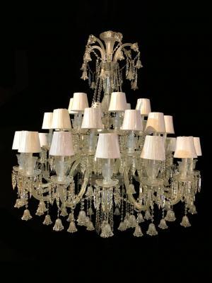 Lustre Cristal K9 34 lâmpadas